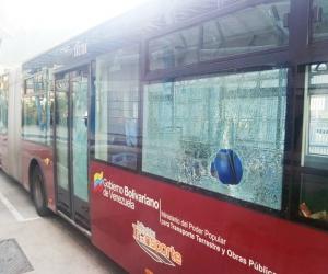 Más de 50 unidades de Trolebús Mérida han sido atacadas en lo que va de año!